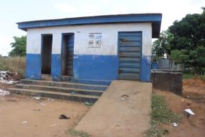 The Water Project: Kulafai Rashideen Primary School -  Girls Latrines