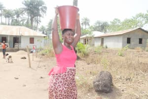 The Water Project: Waysaya Community, #1 Reverend Samuel Street -  Young Woman Carrying Water