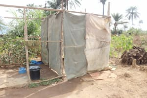 The Water Project: Waysaya Community, #1 Reverend Samuel Street -  Bath Shelter