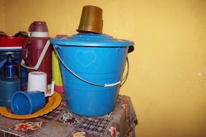 The Water Project: Waysaya Community, #1 Reverend Samuel Street -  Water Storage