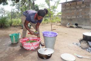 The Water Project: Waysaya Community, #1 Reverend Samuel Street -  Woman Cooking