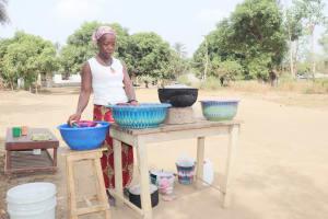 The Water Project: Waysaya Community, #1 Reverend Samuel Street -  Woman Selling Food