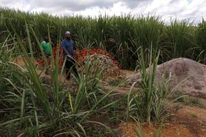The Water Project: Rubona Kyawendera Community -  Brick Sand And Clay