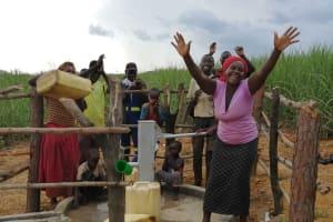 The Water Project: Rubona Kyawendera Community -  Celebrating The Well