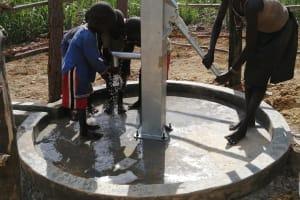 The Water Project: Rubona Kyawendera Community -  Children Playing At The Well