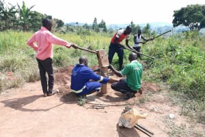 The Water Project: Ejinga Taosati Community -  Well Rehab