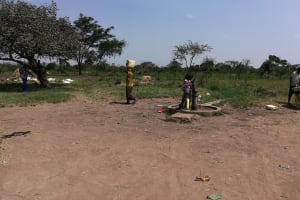 The Water Project: Rwensororo Community -  Carrying Water
