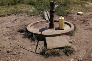 The Water Project: Rwensororo Community -  Well In Need Of Rehab