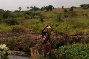 The Water Project: Bulima-Kahembe Community -  Carrying Water