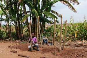 The Water Project: Bulima-Kahembe Community -  Constructing A Chicken Coop