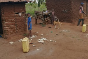 The Water Project: Bulima-Kahembe Community -  Homestead