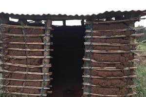 The Water Project: Bulima-Kahembe Community -  Latrine