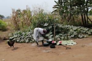 The Water Project: Bulima-Kahembe Community -  Washing Dishes
