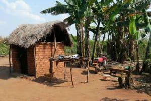 The Water Project: Byerima Community -  Dishrack