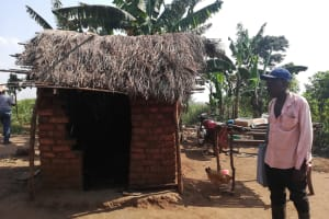 The Water Project: Byerima Community -  Kitchen And Drying Rack