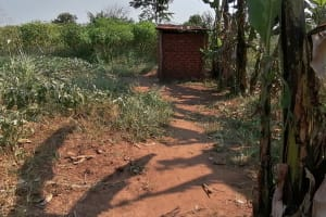 The Water Project: Byerima Community -  Latrine