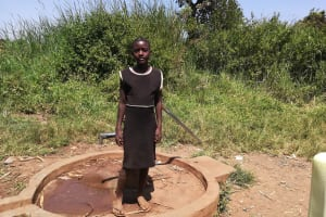 The Water Project: Byerima Community -  Whitney A