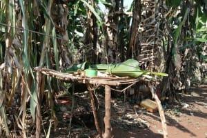 The Water Project: Byerima Kyakabasarah Community -  Dishrack