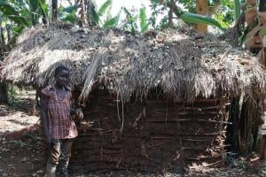 The Water Project: Byerima Kyakabasarah Community -  Latrine