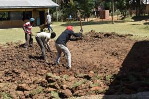 The Water Project: Wavoka Primary School -  Excavation Works