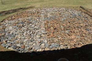 The Water Project: Wavoka Primary School -  Stone And Gravel Foundation