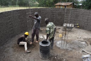 The Water Project: Wavoka Primary School -  Setting The Pillar Forms