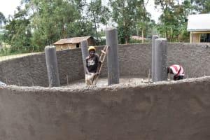 The Water Project: Wavoka Primary School -  Plaster Works
