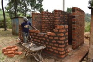 The Water Project: Wavoka Primary School -  Latrine Construction