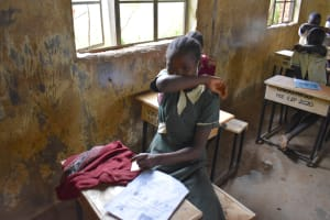 The Water Project: Wavoka Primary School -  Practicing The Elbow Cough