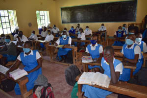 The Water Project: Tande Primary School -  Students In Class