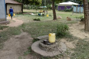 The Water Project: Tande Primary School -  Water Source At Home