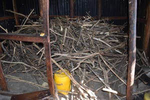 The Water Project: Tande Primary School -  Firewood For Cooking Fuel