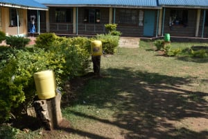 The Water Project: Tande Primary School -  Handwashing Stations At The School