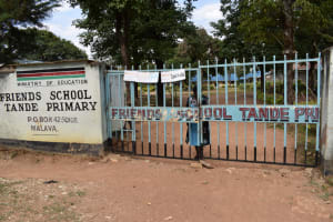 The Water Project: Tande Primary School -  Schools Entry Gate