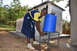 The Water Project: Jimarani Primary School -  Handwashing