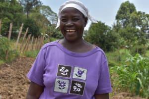 The Water Project: Isanjiro Community, Musambai Spring -  Alice Nyongesa