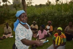 The Water Project: Mukhuyu Community, Gideon Kakai Chelagat Spring -  Dental Hygiene Training