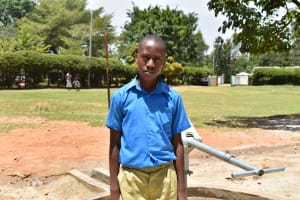 The Water Project: Ibokolo Primary School -  Jeff