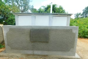 The Water Project: Ibokolo Primary School -  Complete Latrine Block