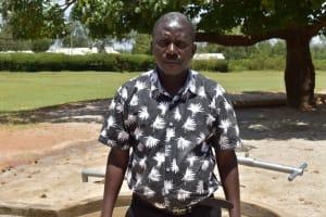 The Water Project: Ibokolo Primary School -  Headteacher Augustine Oduor