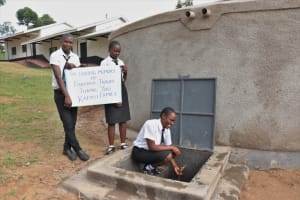 The Water Project: Friends Mixed Secondary School Lwombei -  Thank You