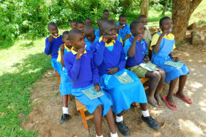 The Water Project: Ibokolo Primary School -  Dental Hygiene Session