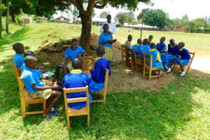 The Water Project: Ibokolo Primary School -  Small Group Activities