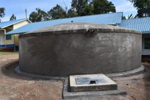 The Water Project: Gidimo Primary School -  Complete Rain Tank