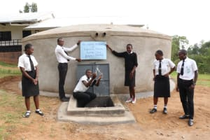 The Water Project: Friends Mixed Secondary School Lwombei -  Celebrating Water At School