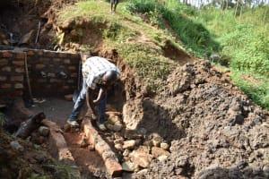 The Water Project: Mushikulu B Community, Olando Spring -  Stone Pitching
