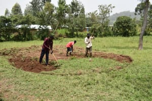 The Water Project: Friends Mixed Secondary School Lwombei -  Site Excavation