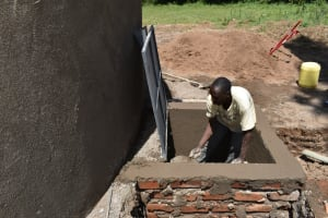 The Water Project: Friends Mixed Secondary School Lwombei -  Drawing Point Construction