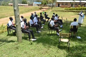 The Water Project: Friends Mixed Secondary School Lwombei -  Handwashing Demonstrations