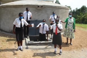 The Water Project: Friends Mixed Secondary School Lwombei -  Raise Your Glasses High